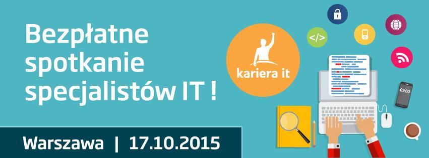 Kariera IT - 17.10.2015 grafika